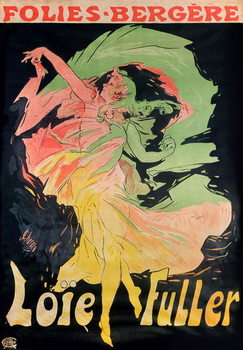 Reprodução do quadro Folies Bergere: Loie Fuller, France, 1897