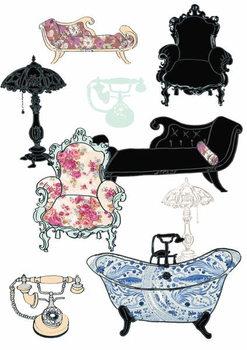 Reprodução do quadro Furniture, 2013