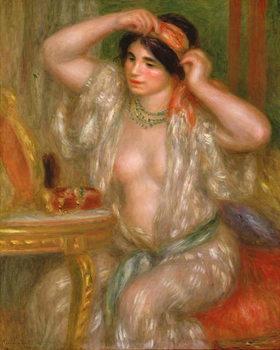 Reprodução do quadro Gabrielle at the Mirror, 1910