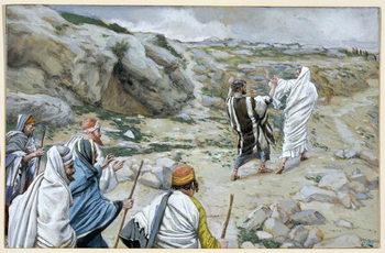 Reprodução do quadro Get Thee Behind Me, Satan, illustration for 'The Life of Christ', c.1886-94