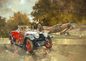 Reprodução do quadro Ghost and Spitfire