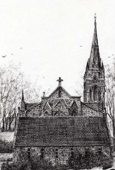 Reprodução do quadro Glenmuick (Ballater) Church, 2007,