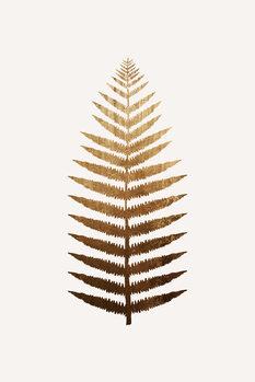Ilustração Golden leaf No.7