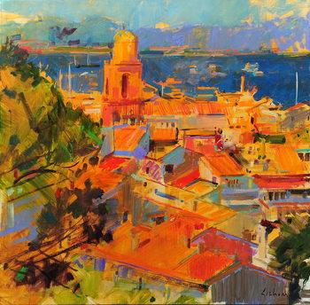 Reprodução do quadro Golfe de Saint-Tropez