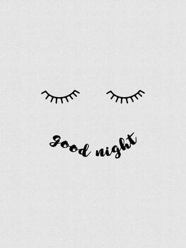 Ilustração Good Night