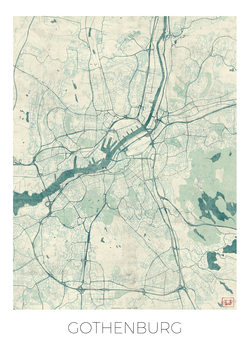 Mapa Gothenburg