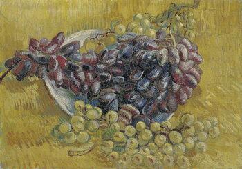 Reprodução do quadro Grapes par Gogh, Vincent, van . Oil on canvas, size : 33x46,3, 1887, Van Gogh Museum, Amsterdam