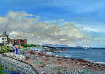 Reprodução do quadro Greystones Ireland, 2001,