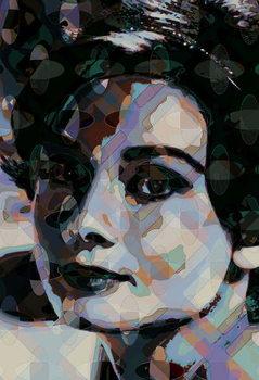 Reprodução do quadro Hepburn 2, 2013