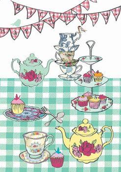 Reprodução do quadro High tea birthday, 2013
