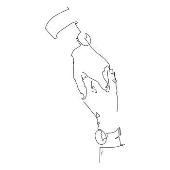 Ilustração Hold