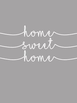 Ilustração Home sweet home