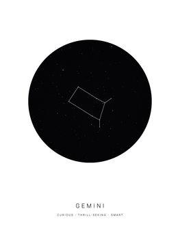 Ilustração horoscopegemini