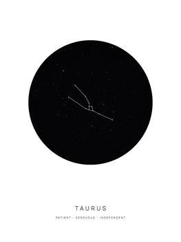 Ilustração horoscopetaurus