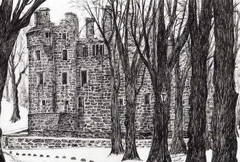 Reprodução do quadro Huntly Castle Scotland, 2007,