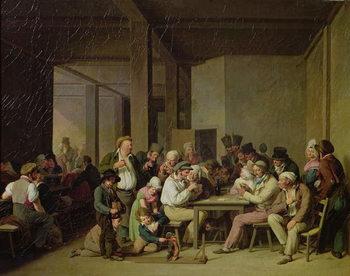Reprodução do quadro Inn Scene