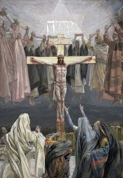 Reprodução do quadro It is Finished, illustration for 'The Life of Christ', c.1886-94