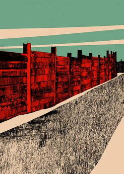 Reprodução do quadro Jarrah Wall, 2014
