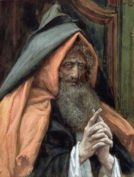 Reprodução do quadro Joseph of Arimathea, illustration for 'The Life of Christ', c.1886-94