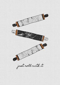 Ilustração Just Roll With It