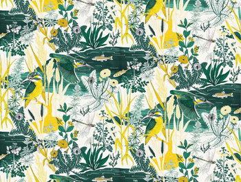 Reprodução do quadro Kingfisher