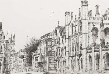Reprodução do quadro Kings College, Cambridge, 2007,