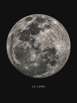 Ilustração la luna
