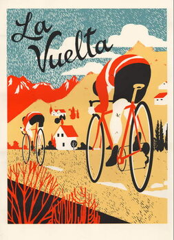 Reprodução do quadro La Vuelta, 2015