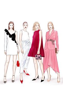 Ilustração Ladies