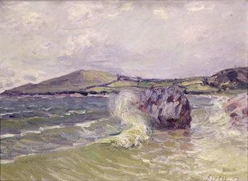 Reprodução do quadro Lady's Cove, Wales, 1897
