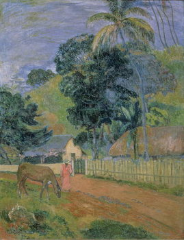 Reprodução do quadro Landscape, 1899