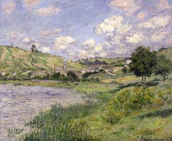 Reprodução do quadro Landscape, Vetheuil, 1879