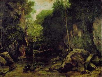 Reprodução do quadro Le Puits-Noir, Doubs
