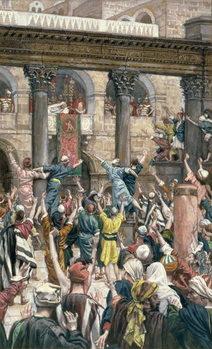 Reprodução do quadro 'Let Him be Crucified', illustration for 'The Life of Christ', c.1886-96