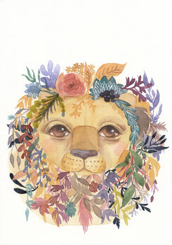 Ilustração Lion