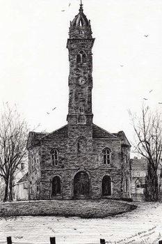 Reprodução do quadro Lorne & Lowland parish church, 2007,
