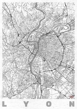 Mapa de Lyon