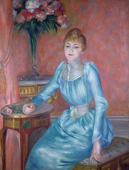 Reprodução do quadro Madame de Bonnieres, 1889