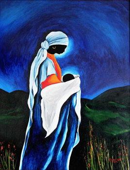Reprodução do quadro Madonna and child - Beloved Son, 2008
