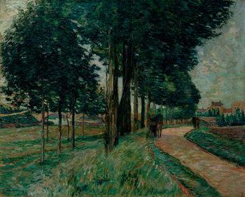 Reprodução do quadro Maisons-Alfort, 1898