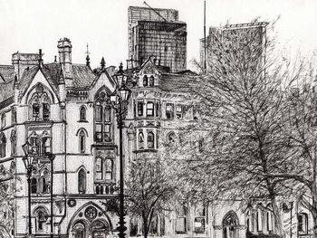 Reprodução do quadro Manchester Beetham tower, 2007,