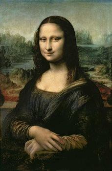 Reprodução do quadro Mona Lisa, c.1503-6