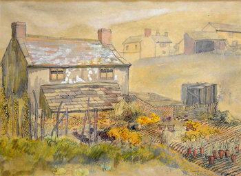 Reprodução do quadro Moorland Cottage,2014