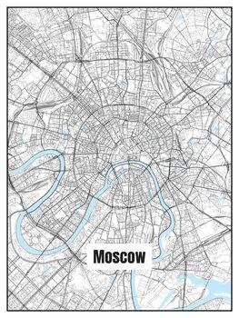 Mapa de Moscow