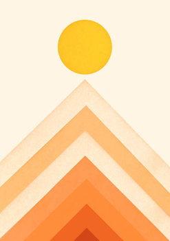 Reprodução do quadro Mountainscape 3