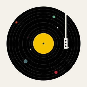 Reprodução do quadro Music Everywhere