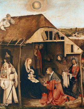 Reprodução do quadro Nativity