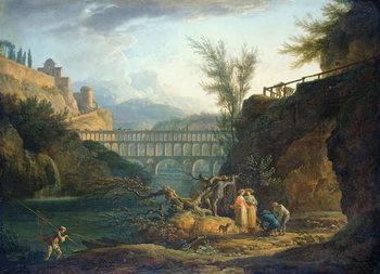 Reprodução do quadro Noon, 1760