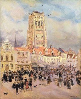 Reprodução do quadro Northern Town