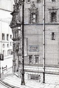 Reprodução do quadro Palace Hotel,Oxford Street, Manchester, 2012,